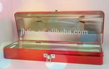 Tin can manufacturer supply tinplate metal pencil case