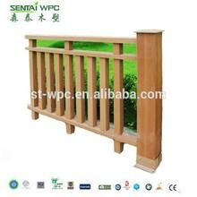 Mildew proof eco WPC portable fence