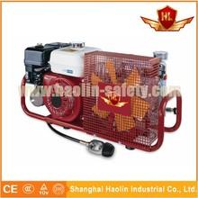 shanghai haolin portable air compressor with Honda petrol engine