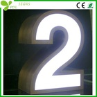 Stainless Steel Lighted Outdoor Signs