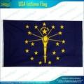 O 3'x5' 3'x6' indiana eeuu estado banderas
