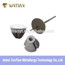 Diameter 230mm floating plug reducing cost for steelmaking