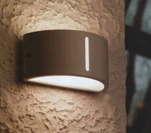 Exterior wall lighting outdoor Bulkhead wall light in round shape for hotel using in China