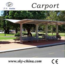 Polycarbonate and aluminum carport checkered 3003 sheet