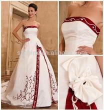 red plus size wedding dress. plus size wedding gowns phoenix