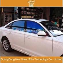 Automobile window solar film anti-scratch VLT 80% self-adhesive 2mil chameleon car window tint for sale
