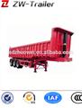 Hyva da extremidade do cilindro de caminhão basculante e traseira do reboque de despejo caminhão basculante lado reboque tipping reboque do caminhão