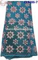 Cl9386-7 novo estilo de venda quente de alta qualidade bonito cordão de algodão renda, swiss laço de tecido para o vestido de noite