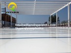 HDPE/ UHMWPE synthetic ice rink/ hockey skating board