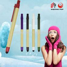 2015 paper ball pen promotional eco pen