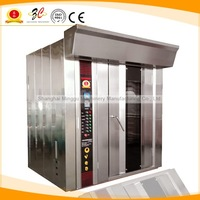 CE APPROVAL electric or gas stainless steel pizza and bread convection rotary oven for sale to bakery biscuit equipment