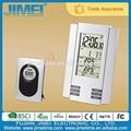 parede ou de mesa stand433 mhz wireless estação meteorológica temperatura relógio