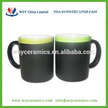 11oz diy ceramic chalk mug for writing,blackboard mug