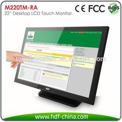 "22"" Resistive Touchscreen USB Desktop LCD Monitor"
