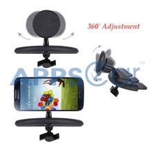 New-360 Car CD Slot Mount Cradle Holder Stand,Mobile Phone Holders,Magnetic Phone Holder
