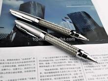 wirecloth matt blue metal pen twist open ballpoint pen