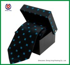 Cardboard Luxury Gift Boxes Black White Plain Pretty Paper Gift Boxes Tie Gift Packing Boxes