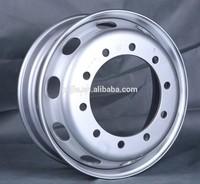 China supply double polished 19.5 aluminum truck wheel