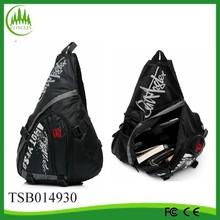 2014 new arrival wholesale black polyester men chest pack bag