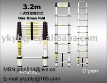 aluminium telescopic ladder 3.2m