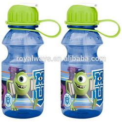 Walmart audit factory 400ml Tritan unbreakable novelty drinking bottles