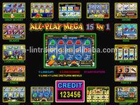 Slot game / ALL-PLAY MEGA 15 / GARAGE MULTIGAME PCB BOARD GAME MACHINE