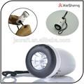 équipement de plein air de serrer la main manivelle torche manuelle d'urgence de charge pour téléphone dynamo led lampe de poche