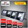 High brightness Competitive price cob 70w sensor led flood light