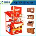 Machines de production à petite maison maître Eco 7000 automatique brique machine de presse