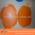 Tampas para tubo de borracha extremidade do tubo de tampas de proteção 40 mm cap end para pós corrimão
