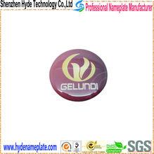fashionable 3D custom epoxy logo sticker