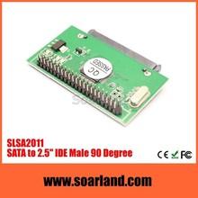 Advanced sata hdd to 2.5 ide bridge board