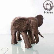 bronze garden elephant sculpture for home decoration