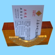 place color plated metal table name card holder size