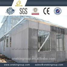 Onekin mgo fireproof board precast foam cement wall panel gypsum board