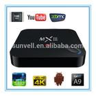Shenzhen Sunvell Electronics Co., Ltd MX III box software to flash digital receiver
