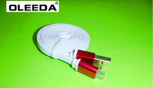 Micro V8 flat wire cable,New design Micro USB noodles data line for smart phone,with CE/FCC