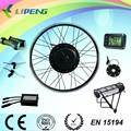 Fácil operação bateria bicicleta elétrica / v freio de conversão kit 1000 w