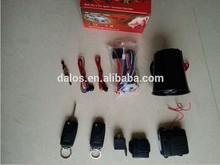 promotional 433mhz one way car alarm with remote control/ K9 one way car alarm system
