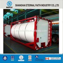 De alta qualidade 20ft recipiente tanque de líquido recipiente