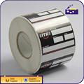de alta calidad brillanteimpreso recubierto de papel la etiqueta del fabricante