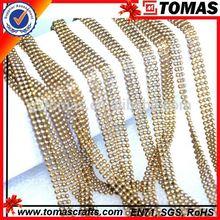 Wholesale custom decorative ball chain necklace