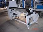 Rewinding machine Single shaft for adhesive tape industry
