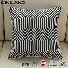 Plain Pattern Linen cushion Covers Printing sofa pillows