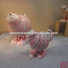 wholesale cat design ceramic home decoration