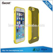 iSecret Creative raised design clear back pc tpu case for iphone6