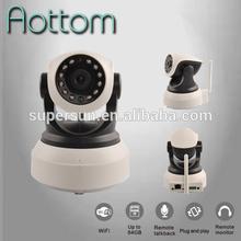 1280*720P CCTV wireless IP Cameras Mega Pixel HD H.264 IR Cut audio,SD Card slot