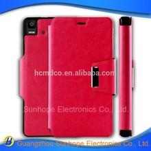 tpu pu leather cases for BLU Quattro Aquaris E5.0 mobile phone bags flip skin