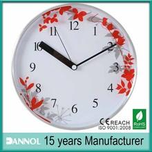 home decor idea round advertising clocks maple leaves scenery wall clock