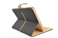 Leather Folio Stand Case For iPad Air 2 Cover